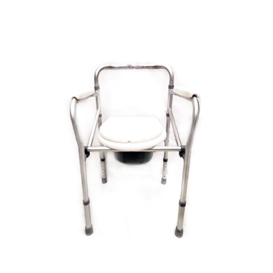 Aluminium Foldable Commode Stationary BT1052